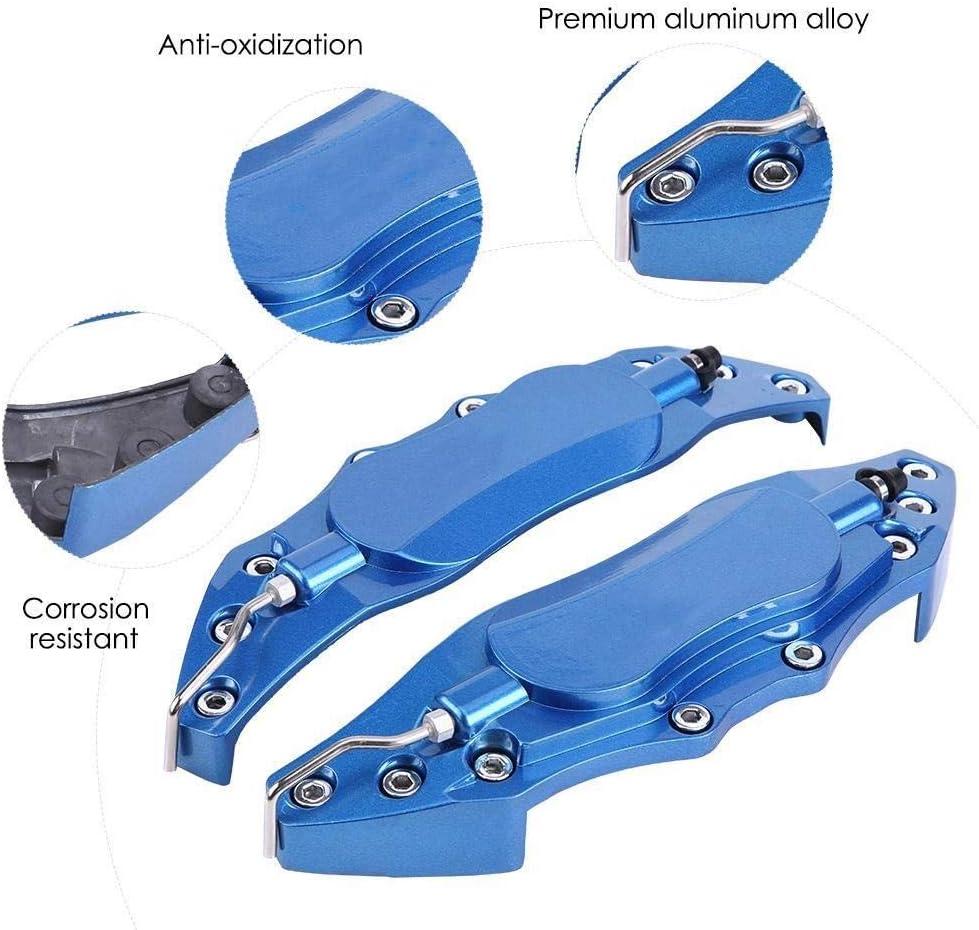 Broco 2ST Auto Aluminium Endlose Bremssattel-Schutz-Abdeckung for Radnaben 16in-17in Medium blau