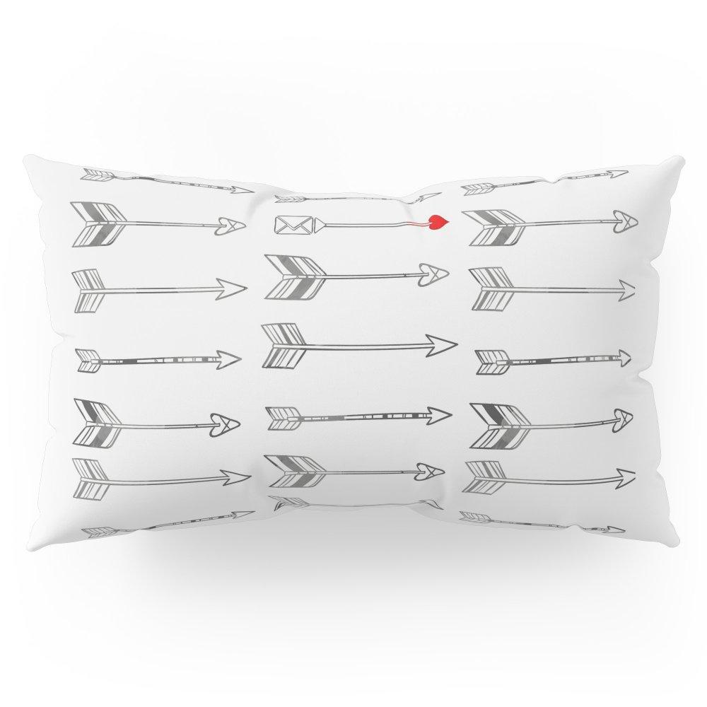 Society6 Minimal Love Arrow Pillow Sham King (20'' x 36'') Set of 2