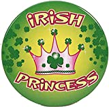 Irish Princess Novelty Button Party Accessory Favor