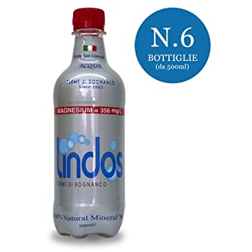 Lindos Acqua Minerale 6x500ml