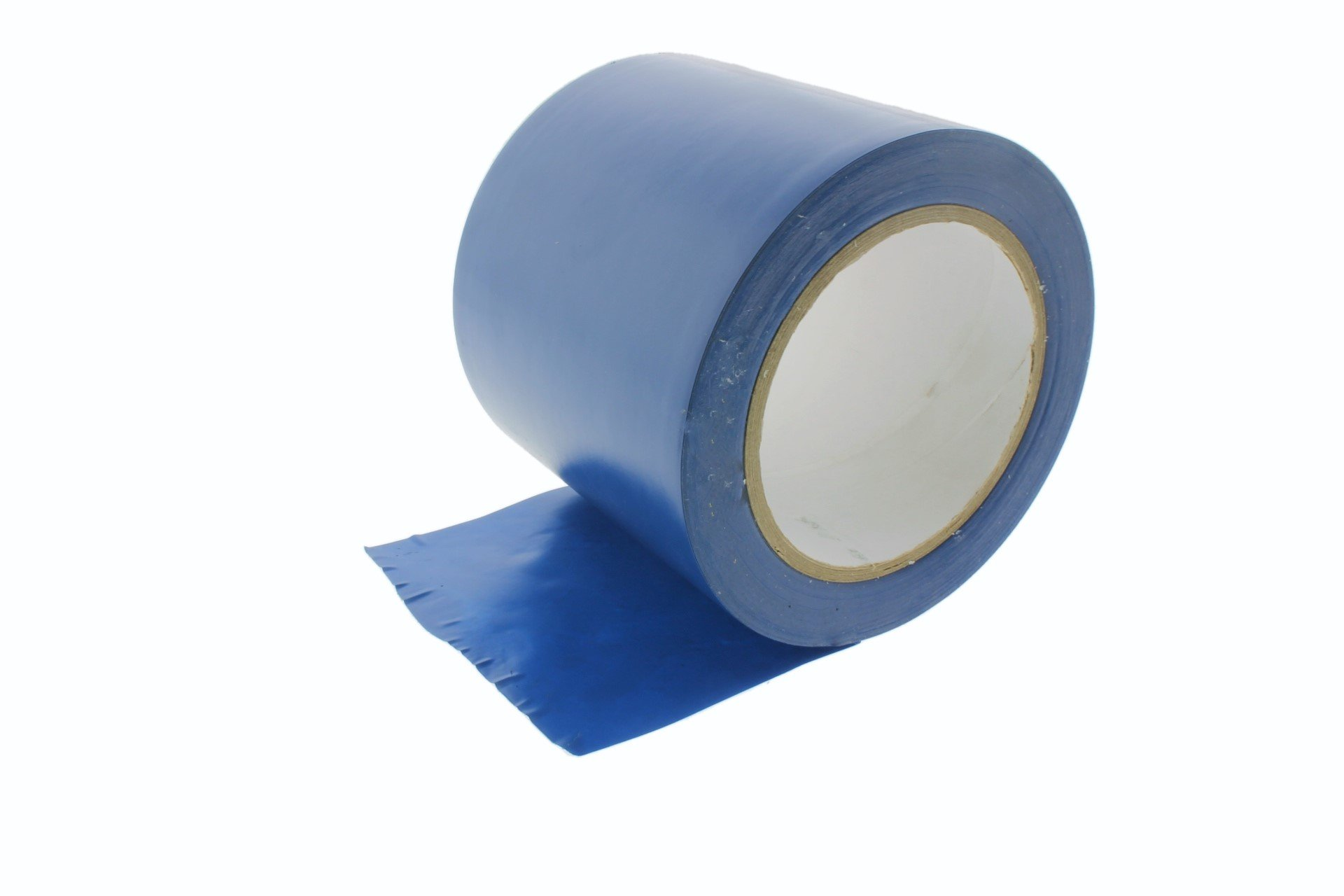 4'' General Purpose Royal Blue Insulated Adhesive PVC Vinyl Sealing Coding Marking Electrical Tape (3.76 in 96MM) 36 yard 7 mil
