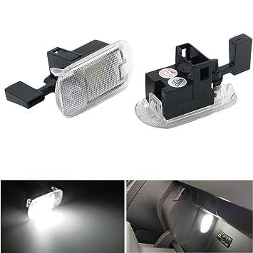 Fit VW Passat B5 B6 98-06 Bright White LED Number Plate Light Bulb *PLUG /& PLAY*