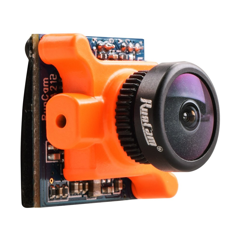 RunCam Micro Sparrow WDR 700TVL 1/3 CMOS 2.1mm FOV 145 Degree 16:9 FPV Camera NTSC/PAL Switchable for Racing Drone Quadcopter by Crazepony