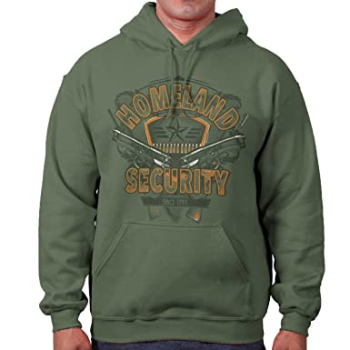 Amazon.com  Homeland Security USA Patriot 2nd Amendment Hoodie  Clothing 1a058a035
