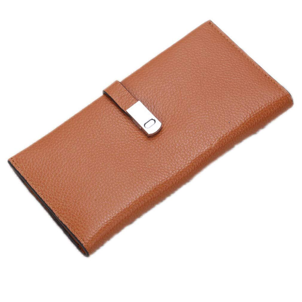 Women Wallets Purses Soft First Layer Leather Fashion Ladies Clutch Purse Bag