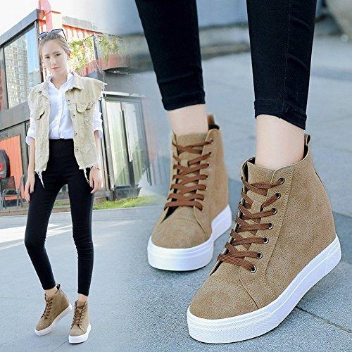 Zapatos de Mujer, Zapatos Casuales, Ropa Casual, Alta - , negro , EUR35