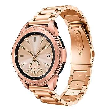 SongNi for Samsung Galaxy Watch (42mm) Straps Correas [Three Bead ...