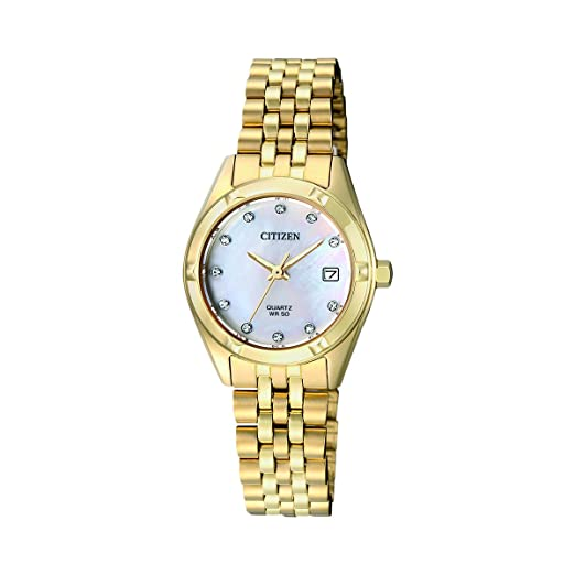 bc05410d1d72 CITIZEN QUARTZ LADY EU6052-53D  Amazon.es  Relojes