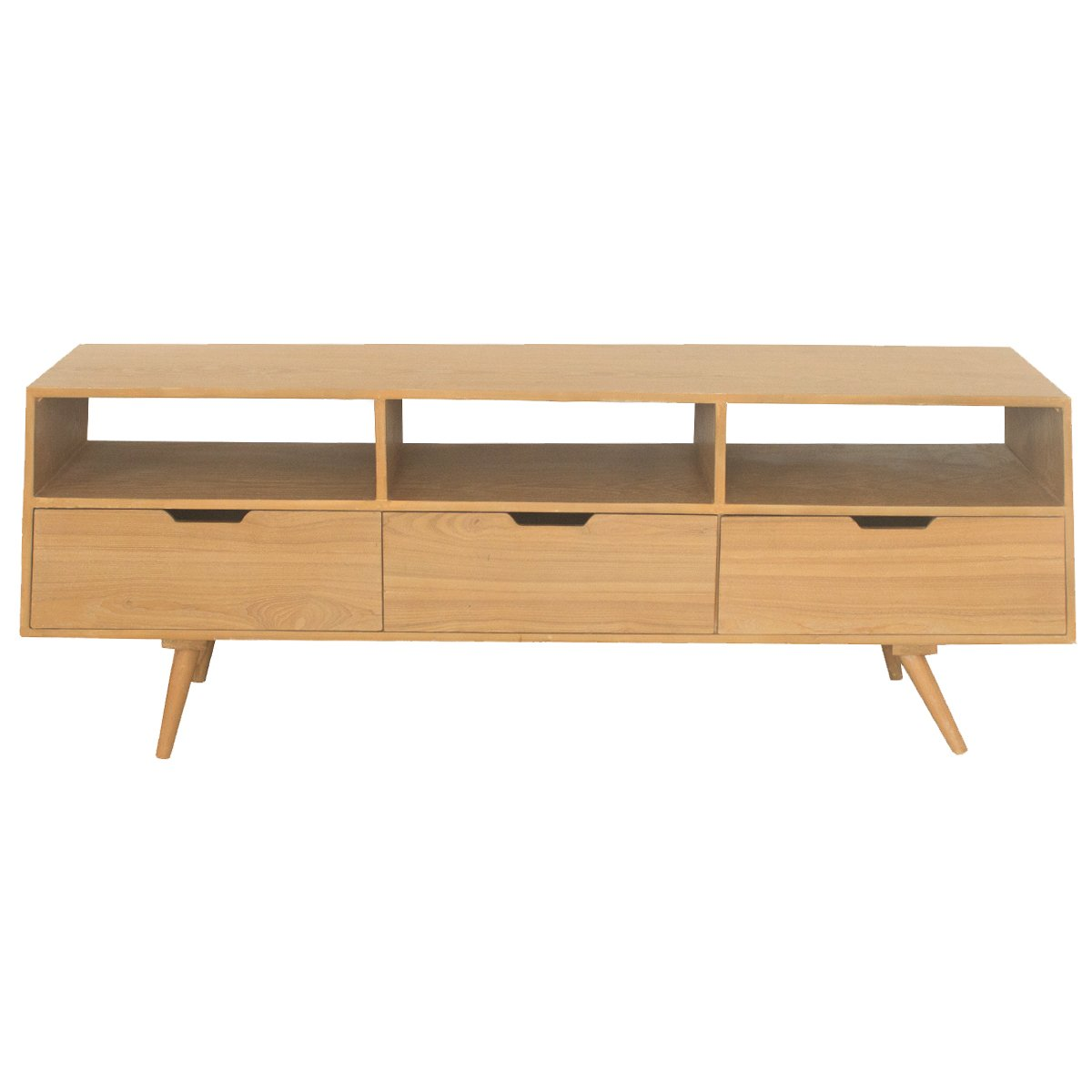 Retro Tv Units Uk Part - 33: SPECIAL OFFER LIMITED QUANTITY Charles Bentley Home Skandi TV Cabinet  Storage Wooden Flat Packed Table TV