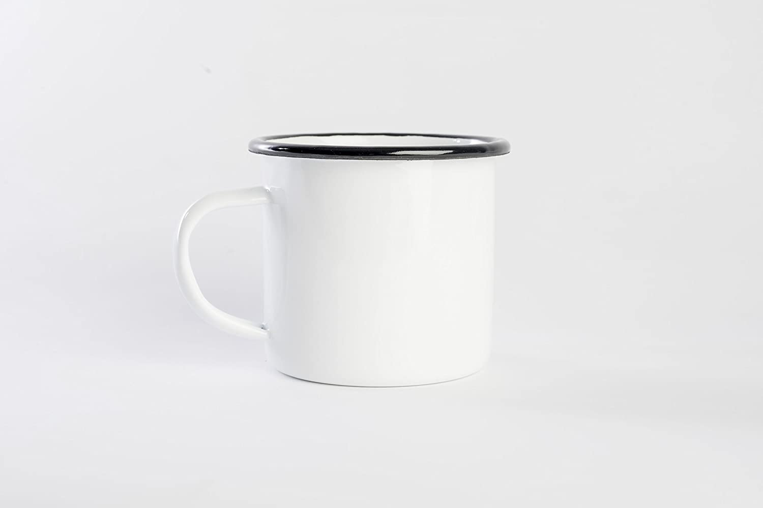Camping Mugs, For Cold/Hot Beverages, Great for the outdoors or staying in, Enamel Mugs 12 OZ