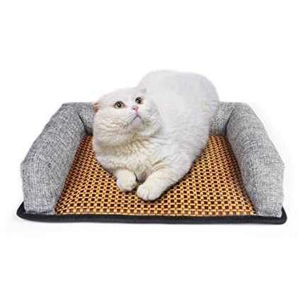 Stock Show Pet Cooling Mat Puppy Kitten Summer Chilly Ice Cooler Bed Cushion Mat Cold Pillow Beds Cats Coolmat Pads For Small Dogs Cats Bunny Hmaster