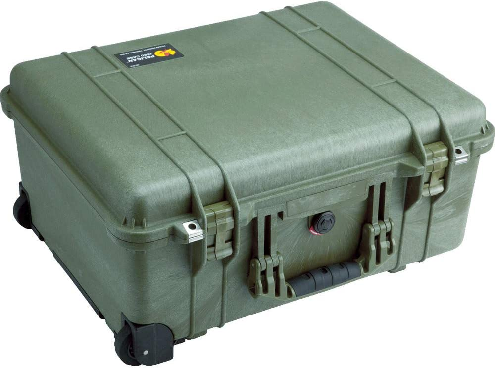 Pelican 1560 Case With Foam (Orange)