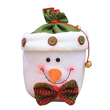 Amazon.es: BESTOYARD Bolsos de Navidad Niños Dulces Bolsas ...