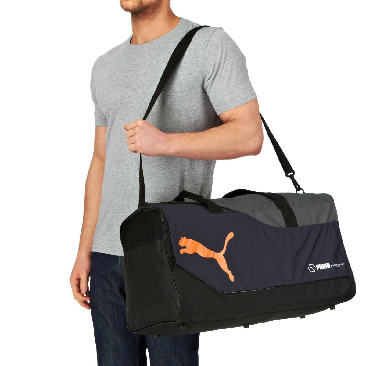 puma fundamentals medium sports bag Sale ce0095f89e13b