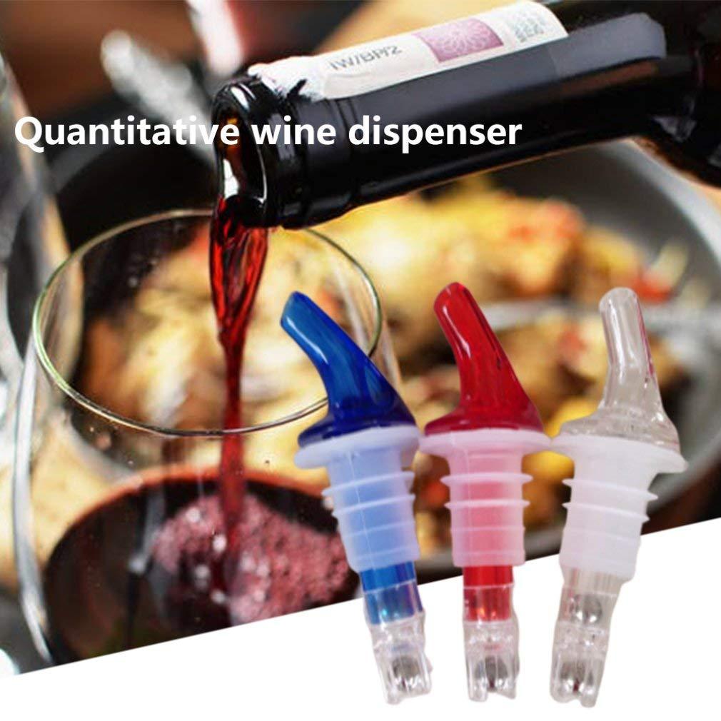 Pourer Pourer Separador de Vino Wine Shaker Botella de Vino Aceite de Vino Pourer Tool 40Ml Azul