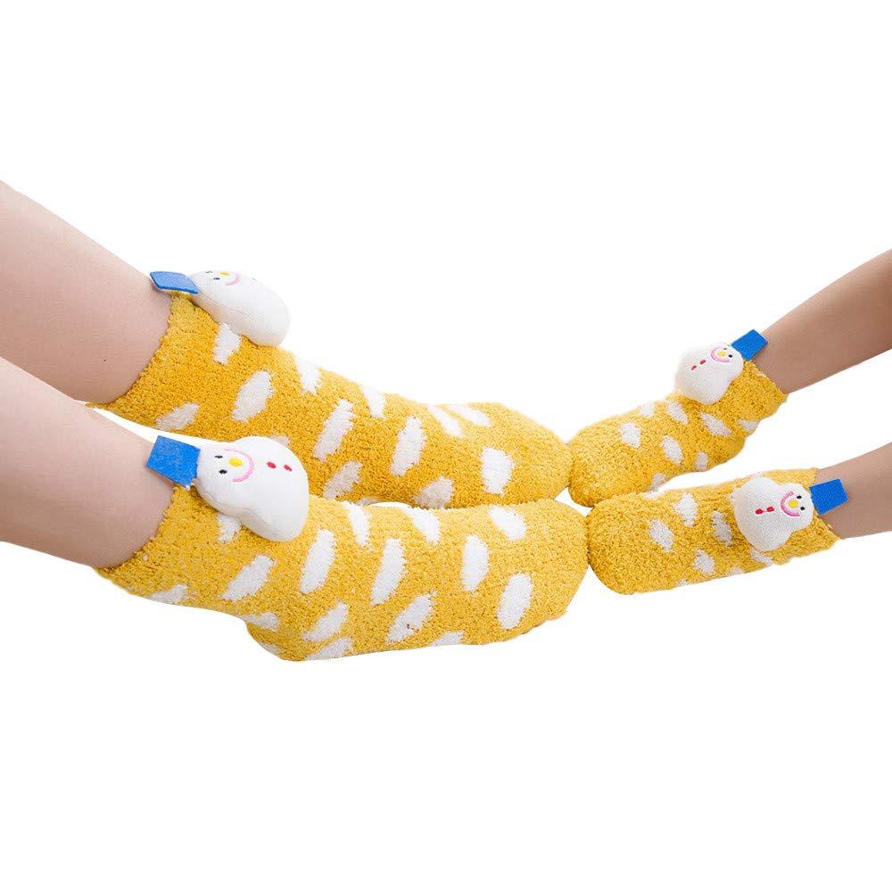 Christmas Baby Toddler Boys Girls Anti-Slip Grip Fuzzy Slipper Socks Soft Winter Fluffy Warm Ankle Floor Socks