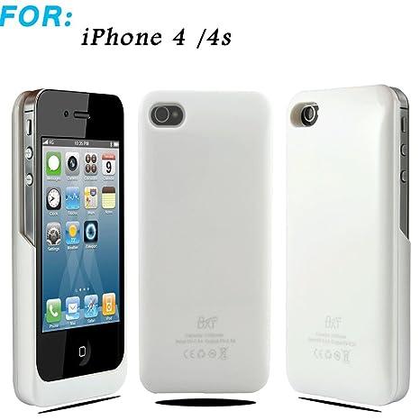 iPhone 4/4S 2200 mAh batería Externa de Copia de Seguridad ...