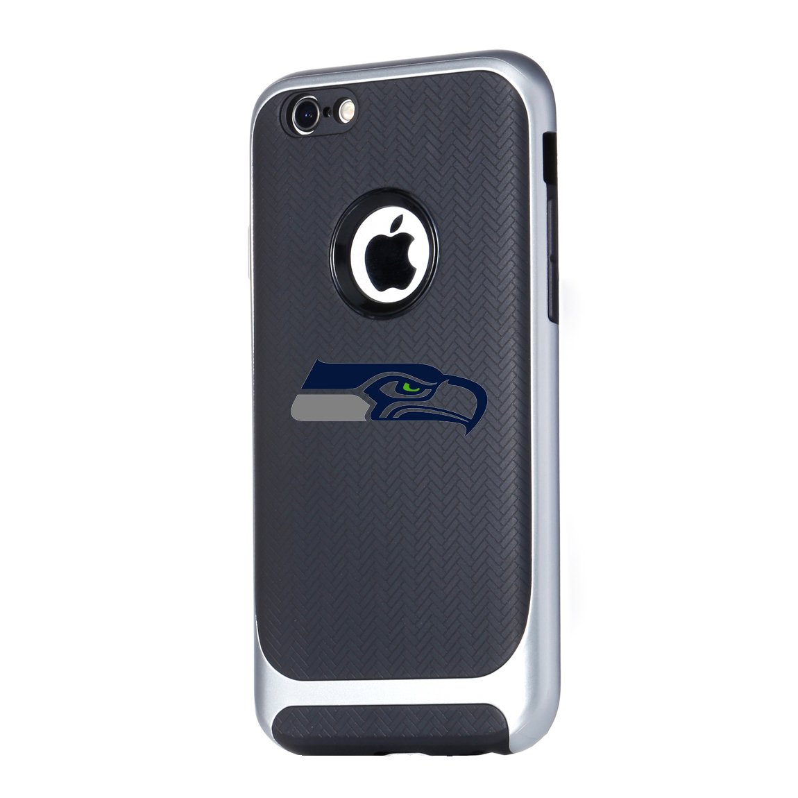 Black 3 in 1 Ultra-Thin Smooth Anti-Scratch PC Hard Back Case Full Cover for iPhone 6 6s iPhone 6s Tough Electroplate Case