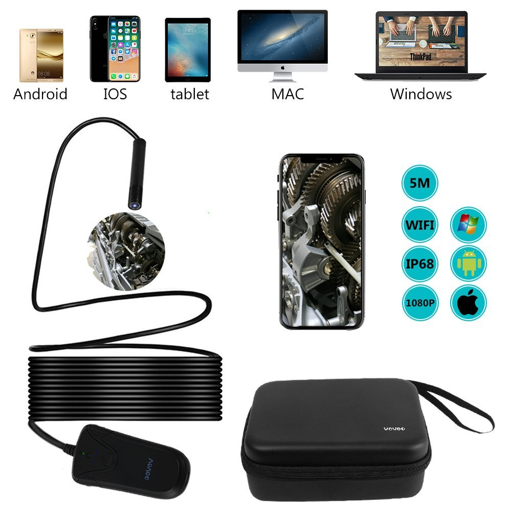 endoskopkamera android usb wifi endoskop handy boroskop. Black Bedroom Furniture Sets. Home Design Ideas