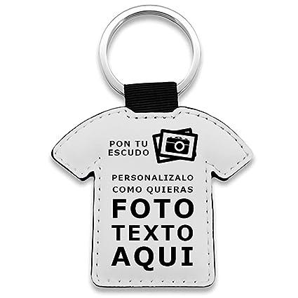 Diver Bebé Llavero Camiseta fútbol Personalizado con Foto ...