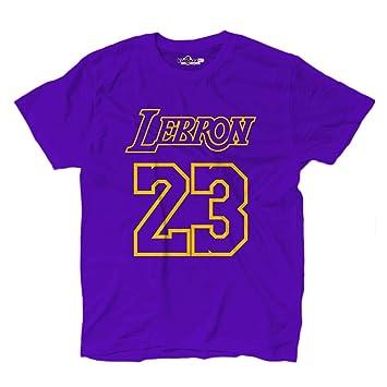 KiarenzaFD Lebron King James 23 Los Angeles All Star - Camiseta de Baloncesto (tamaño Grande), Color Morado: Amazon.es: Deportes y aire libre