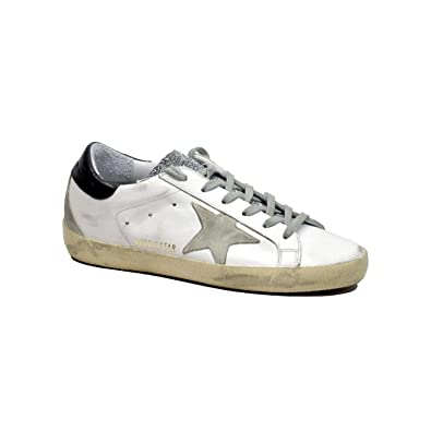 Image Unavailable. Image not available for. Color  Golden Goose Women s  Sneakers Superstar White-Glitter ... 6d6c7af785