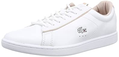 Lacoste Baskets basses Carnaby Blanc 0FXQf4R