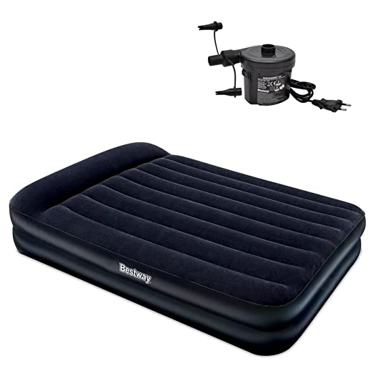 Bestway Cama Hinchable Inflable Camping Viaje Bomba de Aire ...