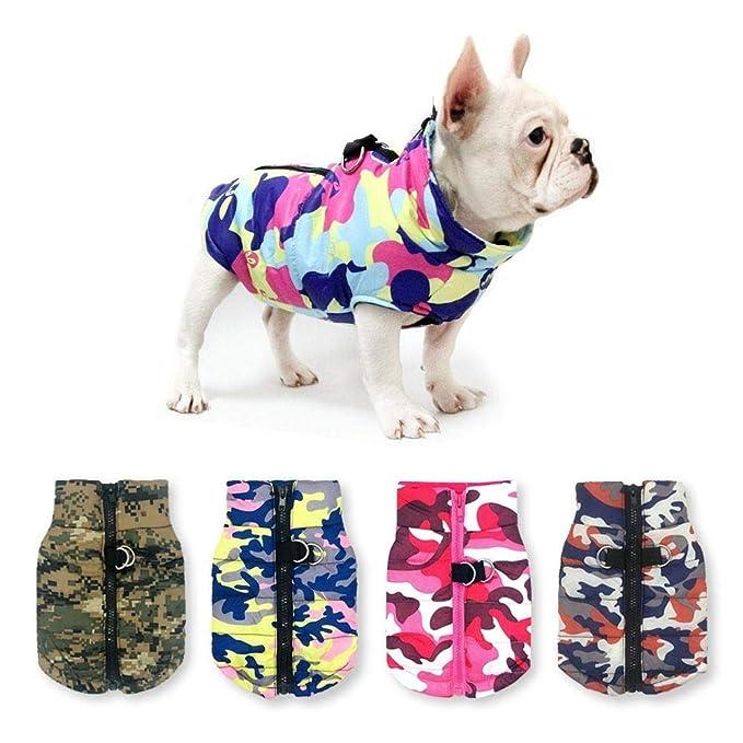 Bulldog Di Cotone Giacca Calda Cane Abbigliamento Invernale