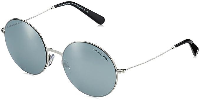 f8706581ff36 Michael Kors KENDALL II MK5017 Sunglasses 10011U-55 - Silver Frame, Silver  Mirror