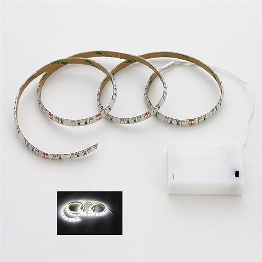100cm 1m LED Leiste Batterie box Batterie betrieben LED Strip e Streifen Band
