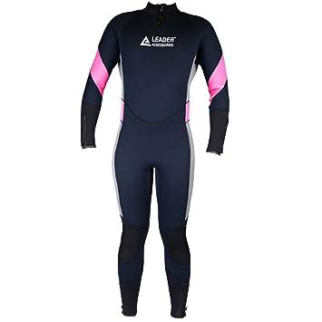 Amazon.com: Líder Accesorios Mujer, 5 negro/rosa/gris traje ...