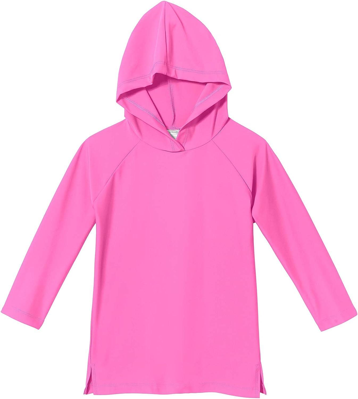 Quick Drying Rashguard Shirt City Threads Boys and Girls UPF 50 Kids Sun Protection Swim Coverup Hoodie Hooded Rash Guard