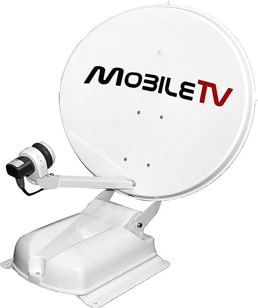 Antena satélite parabólica automática 65 cm 4 K TNTSAT ...