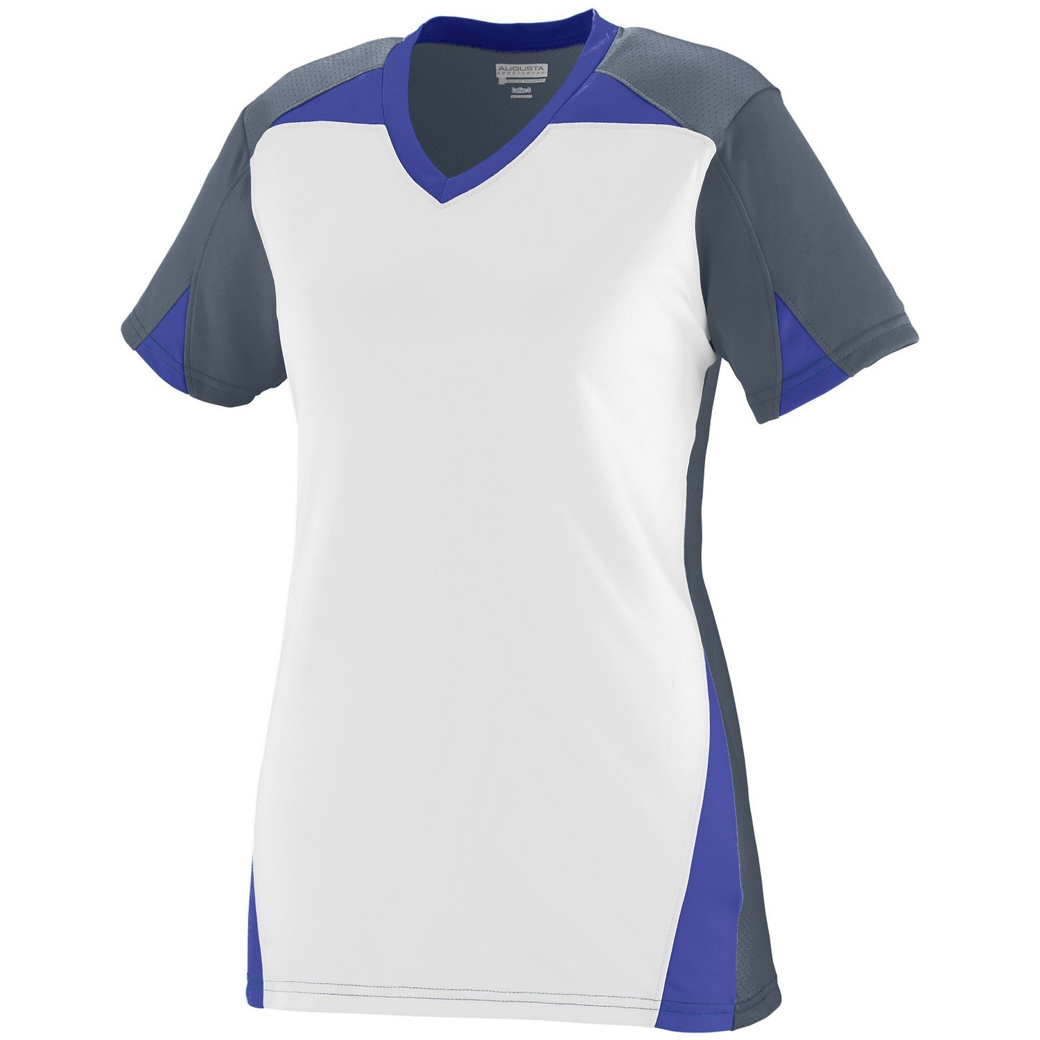 Augusta Sportswearレディースマトリックスジャージー B00P541Y0Q X-Large|Graphite/White/Purple Graphite/White/Purple X-Large