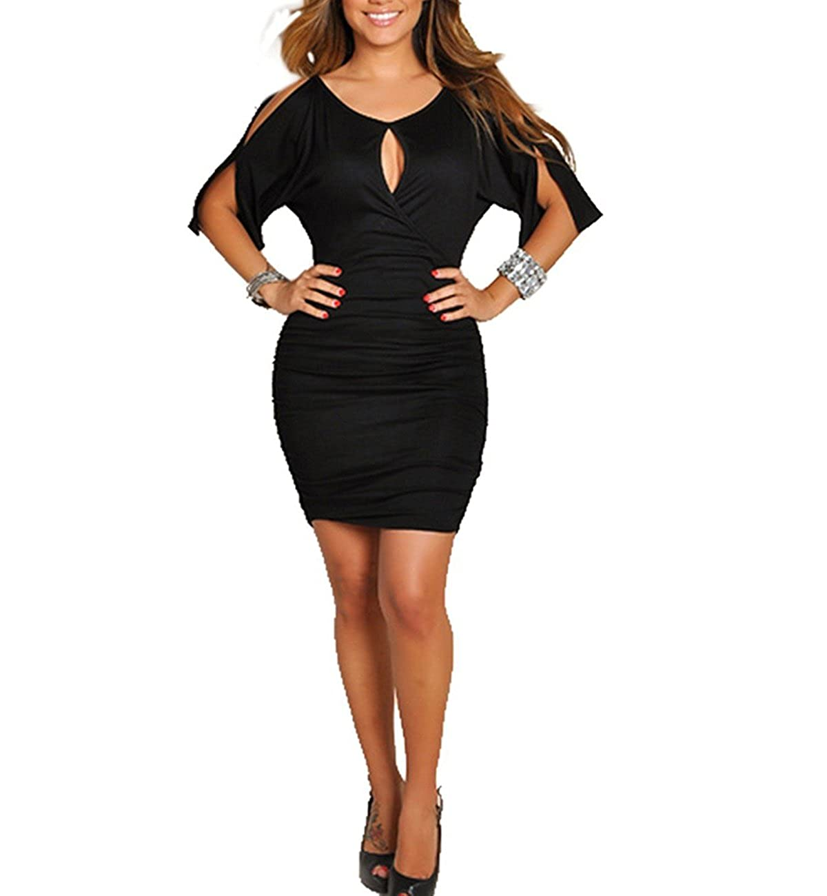578eff41fa Top 10 wholesale Cut Out Wrap Bodycon Dress - Chinabrands.com