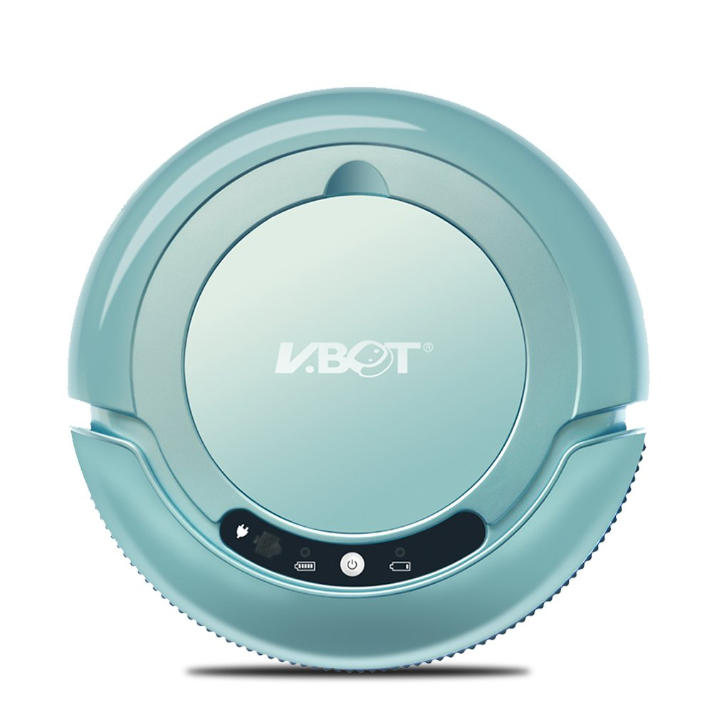 VBOT T270 Robot Vacuum Cleaner and Mop, Entry Level Pet Hair Vacuum Cleaner with Dust Paper for Dry Mopping, Manual Charging, Ideal for Hard Woods