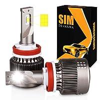 Deals on Simdevanma Automobile LED Headlight Bulbs