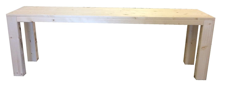 TOTAL WOOD 2012 Panchina Panca panchetta in Legno Esterno Interno 150x38.5x50h Anche su Misura