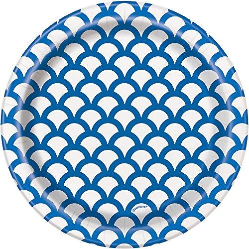 Unique 37194 tableware, 8ct, Royal Blue