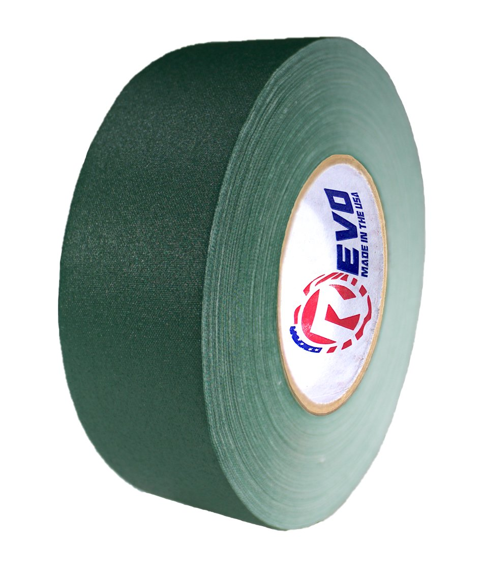 REVO Premium Professional Gaffers Tape MADE IN USA Camera Tape-Better than Duct Tape SINGLE ROLL (2'' x 60 yards, Green) by Revo