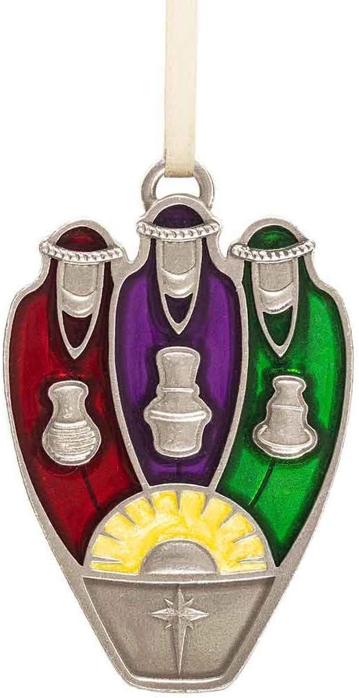 DANFORTH - Three Wisemen Pewter Ornament -