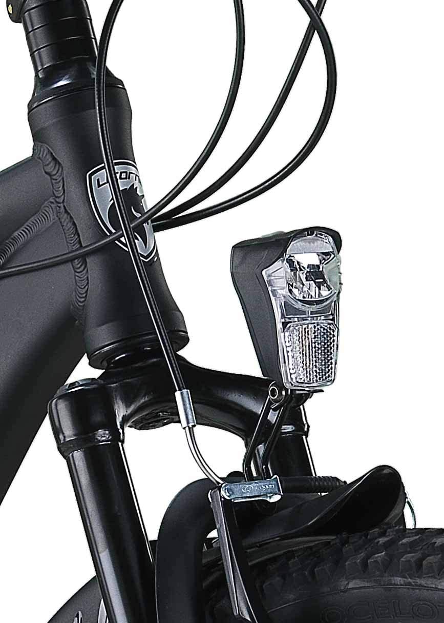 freno de disco delantero y trasero bicicleta para j/óvenes y hombres suspensi/ón completa a partir de 150 cm con guardabarros delantero Licorne Bike Strong D cambio Shimano de 21 marchas Bicicleta de monta/ña de 26 pulgadas Fully