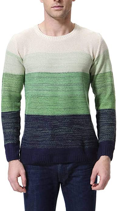Womleys Mens Casual Assorted Colors Crewneck Pullover Sweater Cotton Knitwear