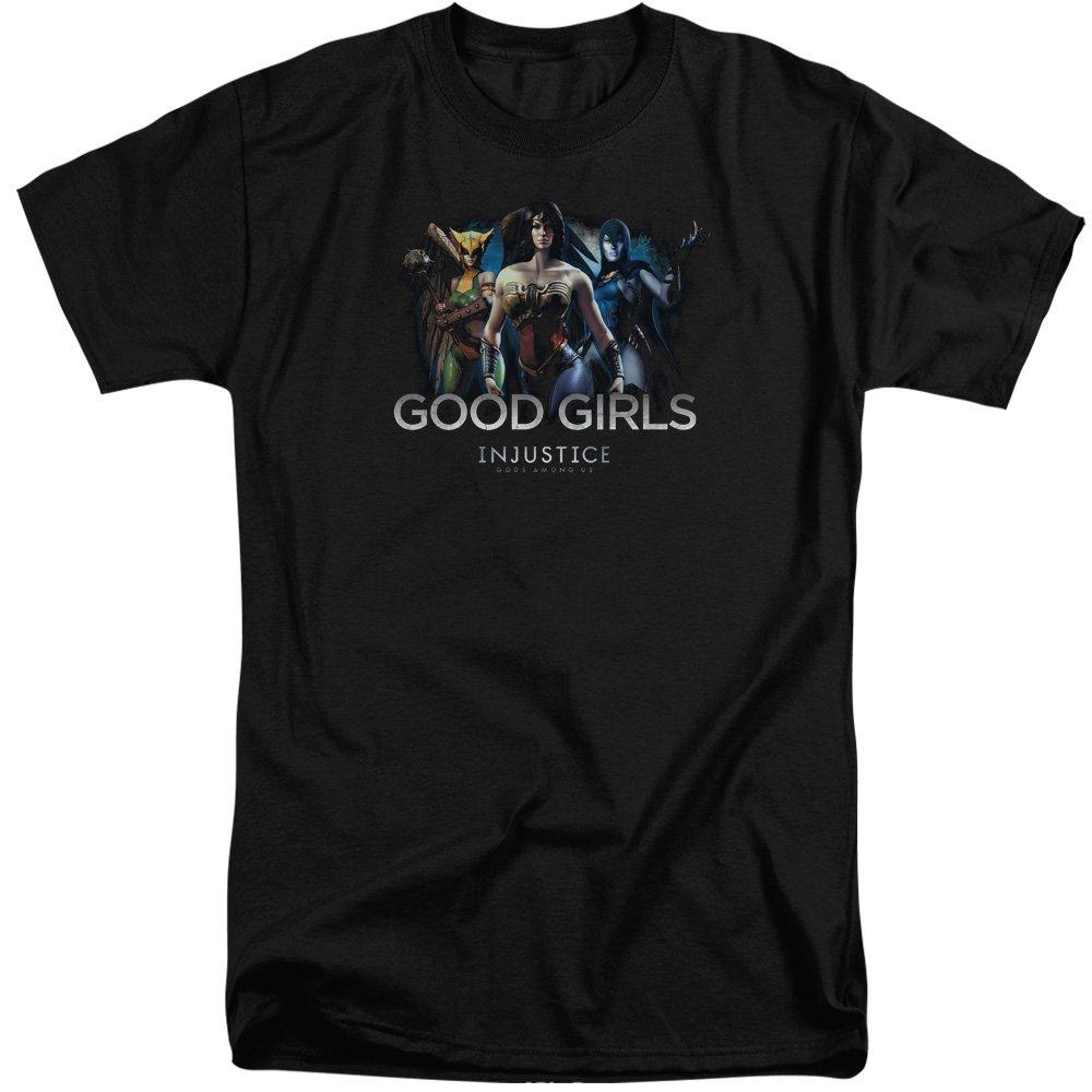 MMM Merchandising Injustice Gods Among Us Mens Good Girls Tall T-Shirt