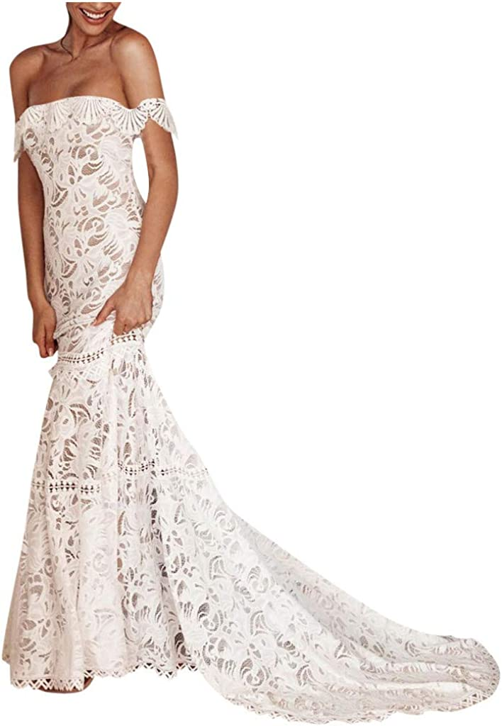 Women S White Dresses Elgant Sexy Maxi Dresses For Wedding Party Strapless Off Sholuder Evening Dresses Lace Embroidery Fashion Dresses Uk Plus Size 8 14 Amazon Co Uk Shoes Bags,Wedding Dresses In Texas