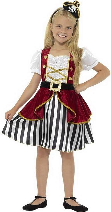 Luxuspiraten – Disfraz de Novia Pirata para niña Deluxe con ...