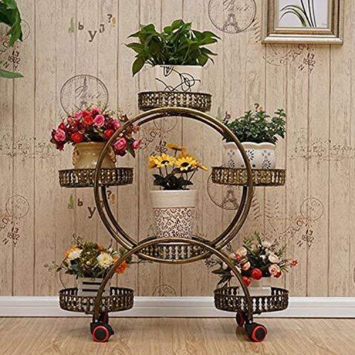 Sconto del 70% a buon mercato HUAIX Home Porta Ruota Mobile Multistrato da Interno per per per balconi Bonsai Flower Stand Flower Stand  merce di alta qualità e servizio conveniente e onesto