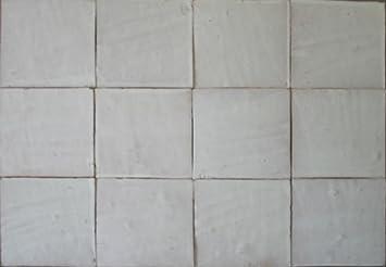 M² Große Weiße Zellige Fliesen Xxcm Handarbeit Marokkanische - Weiße große fliesen