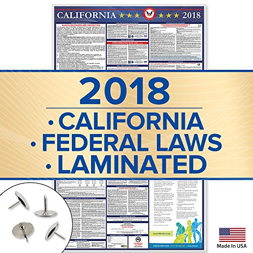 California 2018 Labor Law Posters - 39